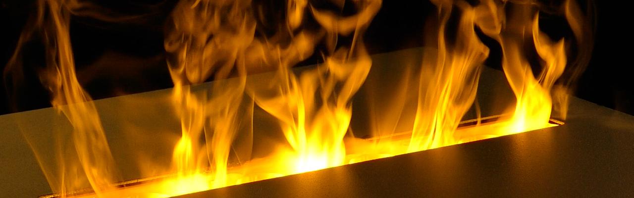 Plamen električnog kamina