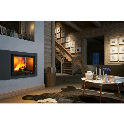 Kamin na drva za etažno grejanje LB800