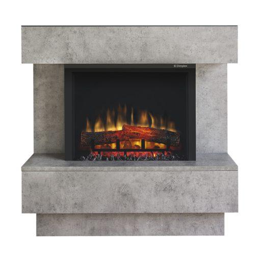 Električni kamin Avalone Eco - Samostojeći - Boja betona