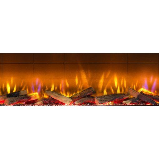 Prikaz plamena električni kamin Vivente 150