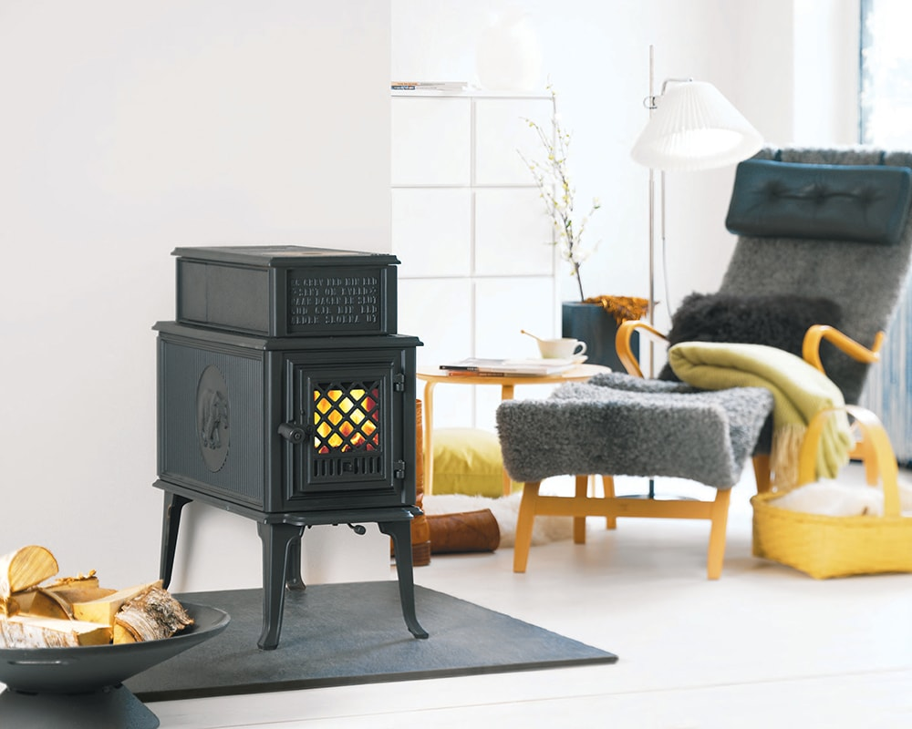 F 118 crna peć na drva