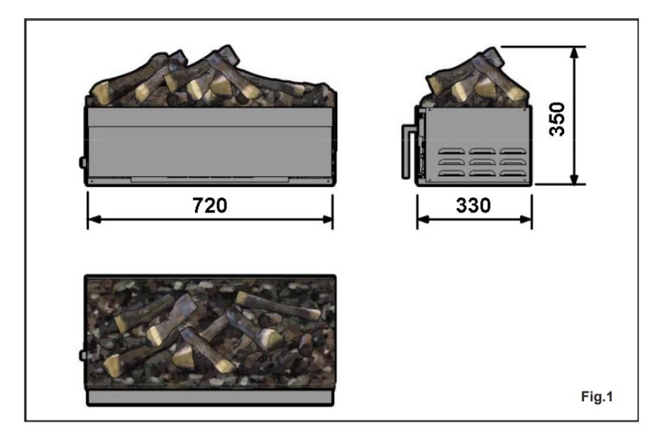 Juneau XL tehnički crtež