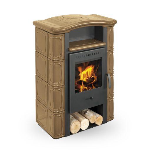 Kaljeva peć na drva Gerona Romotop