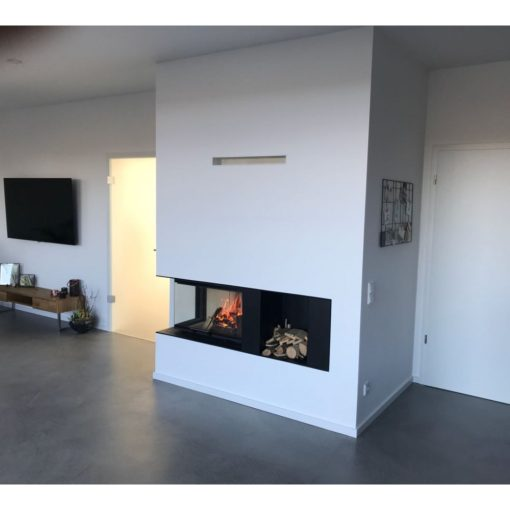 Ugradni kamin Heat ugaoni Romotop