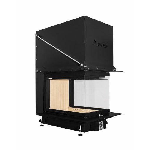 A.caminetti kamin na drva CRYSTAL 3D 50x70