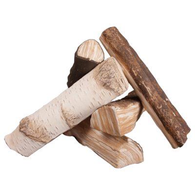 Keramička drvca za bio kamin Mix - Kratki