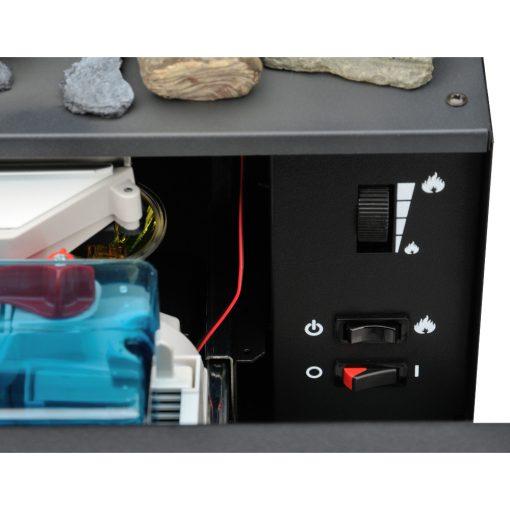 Kontrolni panel Električni kamin Juneau XL
