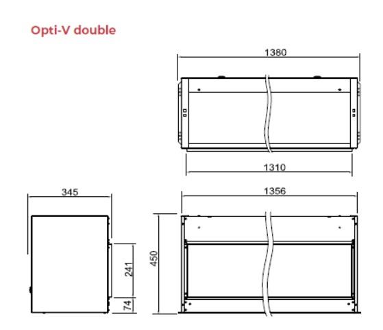Tehnnički crtež Opti V Dobule