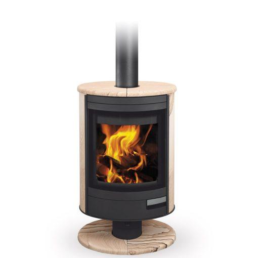 Peć na drva – STROMBOLI N 04 – Sandstone – Romotop