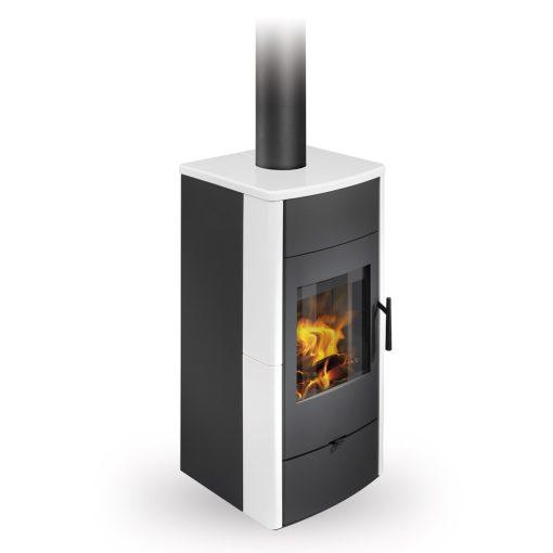 Peć na drva za etažno grejanje Espera 01 Ceramic Romotop