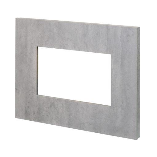 Ram za električni kamin Nissum L boja betona