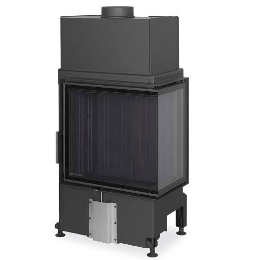 Ugaoni kamin sa crnim ložištem Impression 58.60.34