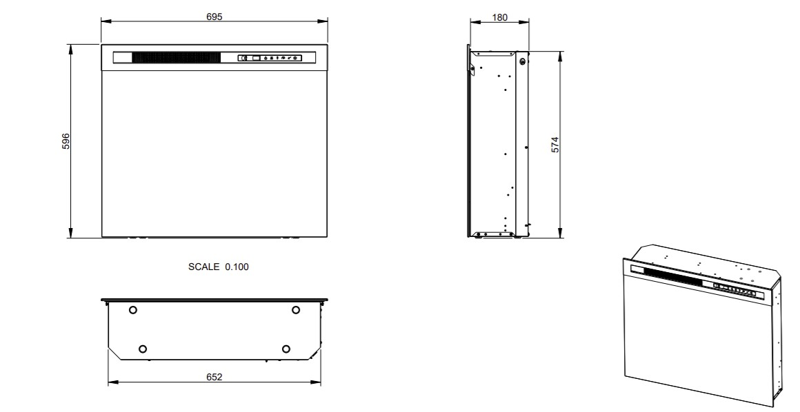 Tehnički crtež XHD 28
