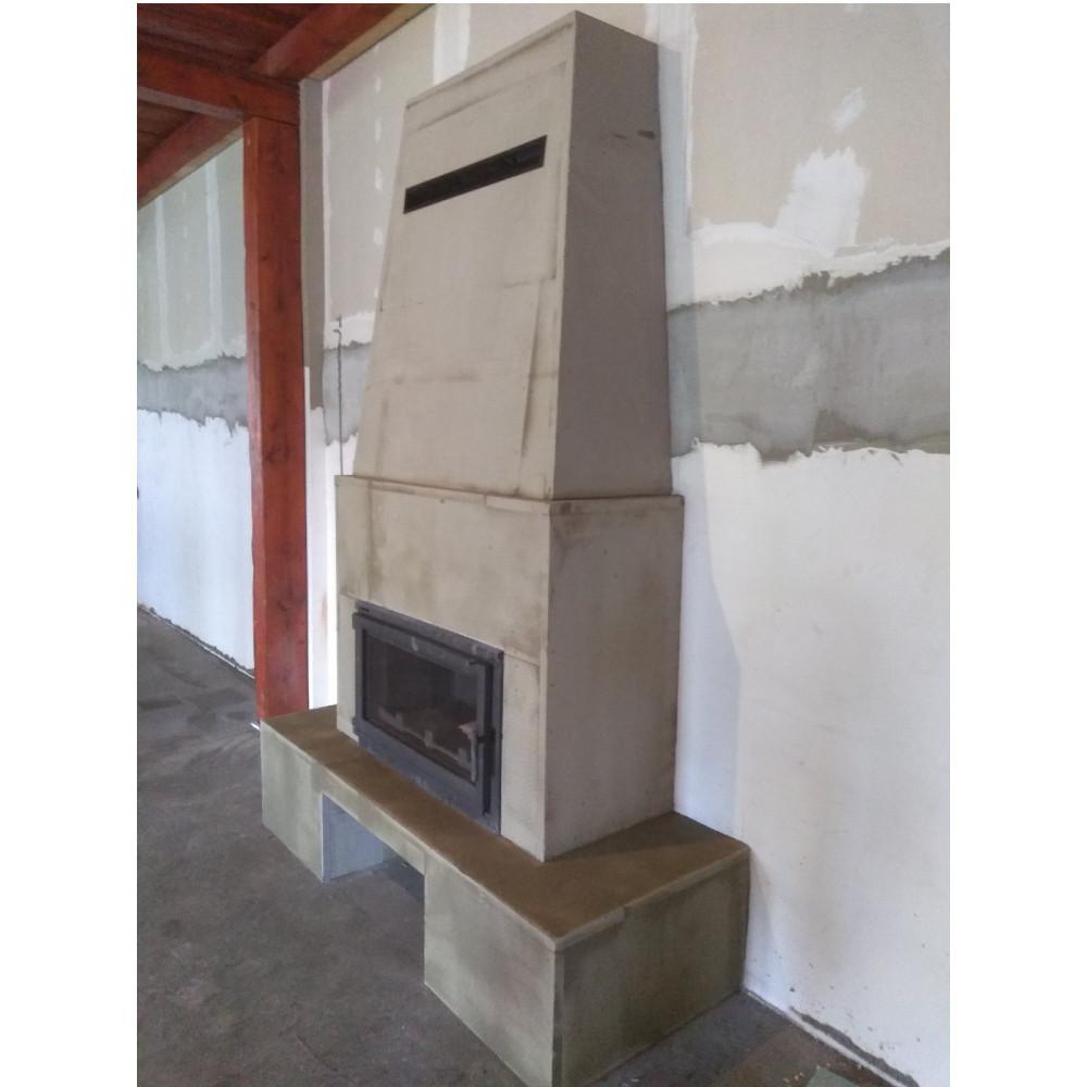 Kamin Bergamo Nordflam
