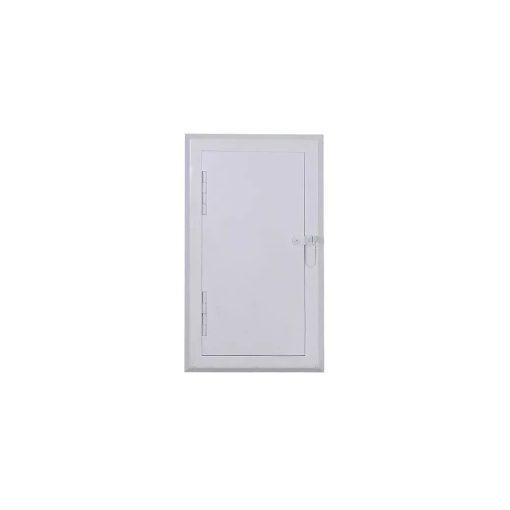 Revizioni otvor za čišćenje dimnjaka beli 14x28 cm - NORDflam