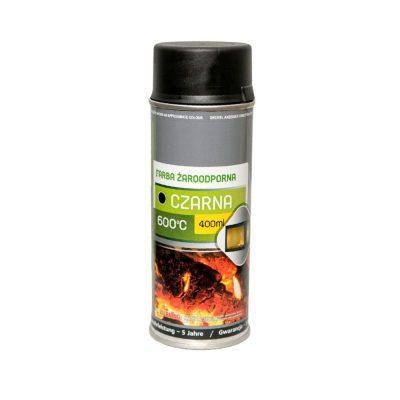 Vatrootporna boja do 600°C - Crna - NORDflam