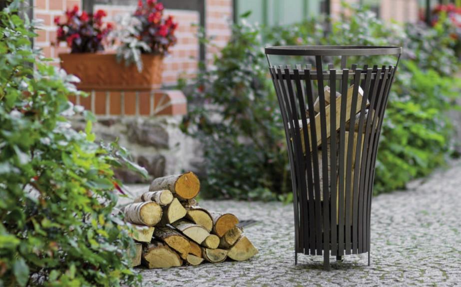 Kamin na drva za dvorište Flame