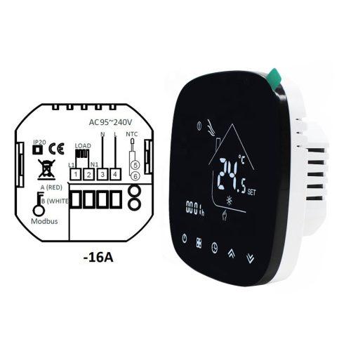 Smart digitalni termostat 604H za podno grejanje na struju