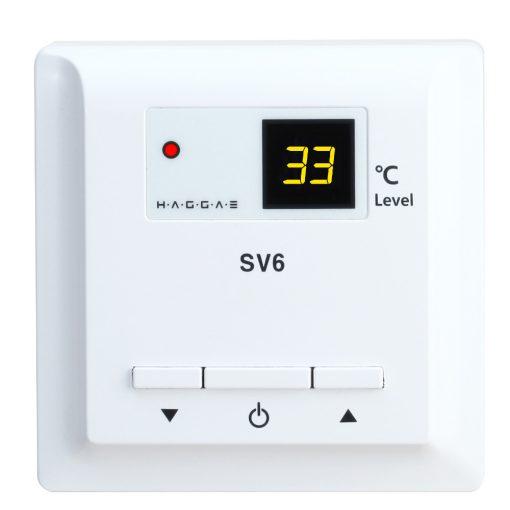 Termostat za električno podno grejanje na struju SV6
