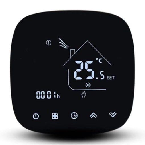 Digitalni termostat Wi Fi za električno podno grejanje 604h Enerpia